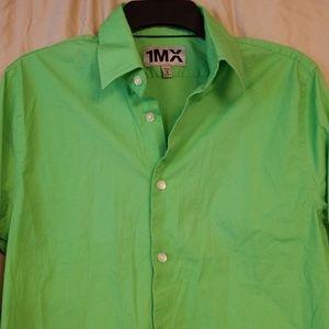 Men's lime green shirt